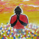 "Art Agaist Racism - ""Girl in Prayer"" by Rhinold Ponder"