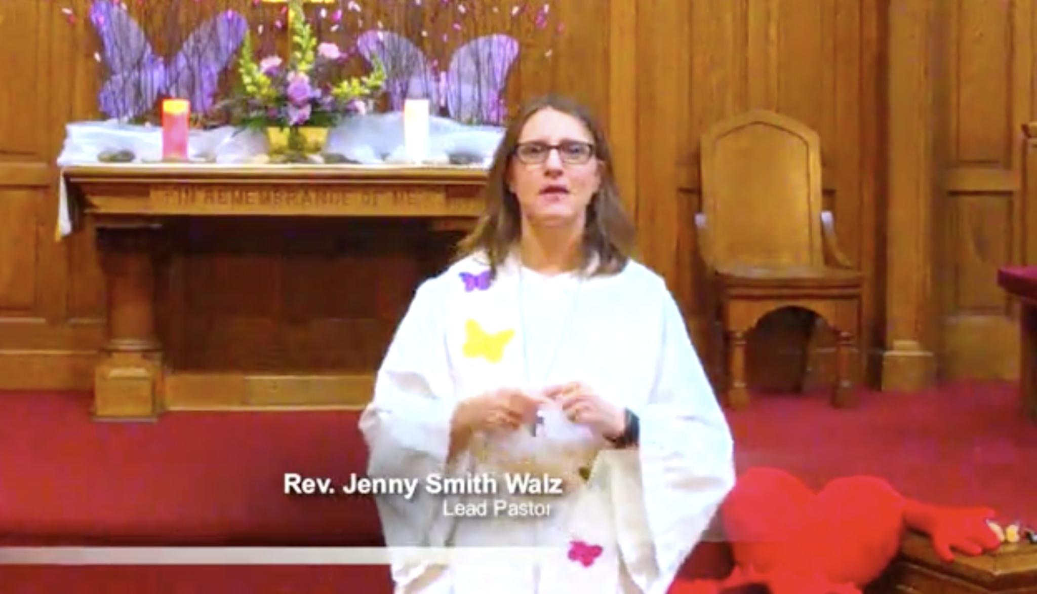 Pastor Jenny's Sermon 4-26-20